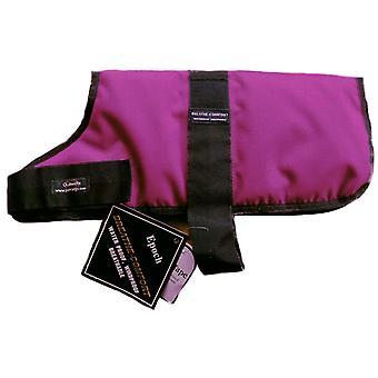 Outhwaites Waterproof Polyester Padded Coat Raspberry 35cm (14
