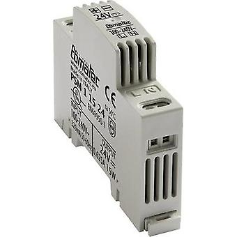 Rail mounted PSU (DIN) Comatec PSM1/15.24 24 Vdc 0.625 A 15 W