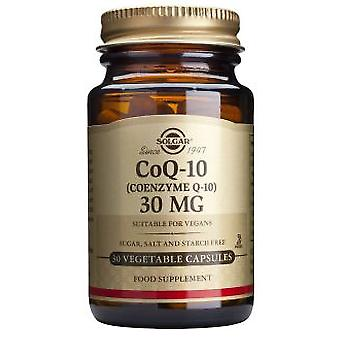 Solgar Coenzyme Q10 30Mg. 30Cap.Soft (Vitamins & supplements , Special supplements)