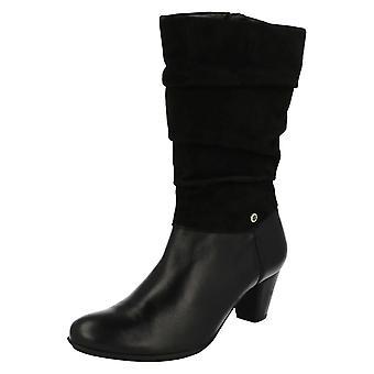 Ladies Van Dal Calf High Boots Kline
