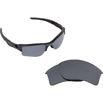 New SEEK Replacement Lenses for Oakley FLAK JACKET XLJ Red Silver Mirror