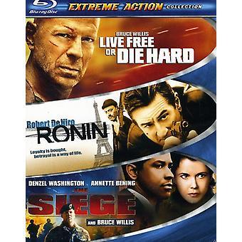 Extreme Action 3Pak [Blu-ray] USA import