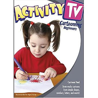 Aktivitet TV - aktivitet TV: Cartooning - begyndere [DVD] USA import