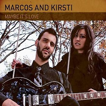 Marcos & Kirsti - Maybe It's Love [CD] USA import