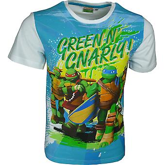 Nickelodeon Ninja Turtles Boys T-Shirt Short Sleeve