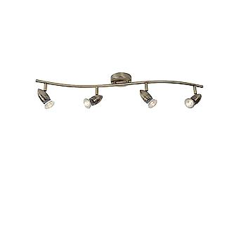 Lucide Caro - LED Bullet Ceiling Bar 4 Spot Light