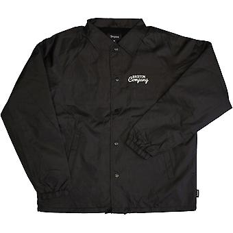 Brixton Ditmar Windbreaker Jacket Black