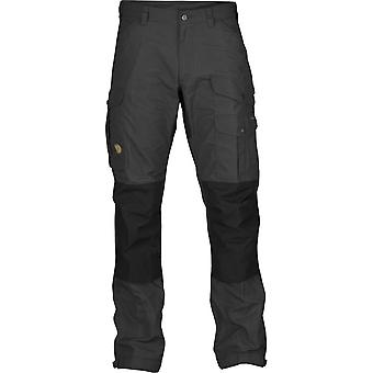 Fjallraven Mens Vidda Pro Trousers Regular Dark Grey (Waist 32 Regular)