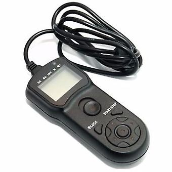 JJC TM-F Multi-Function Timer Remote Control - replacement for Sony RM-S1AM, RM-L1AM / Minolta RC-1000S, RC-1000L
