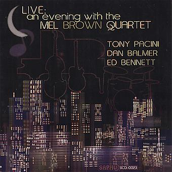 Mel Brown Quartett - Live: An Evening with Mel Brown Quartett [CD] USA import
