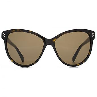 Stella McCartney Essentials Cateye Sunglasses In Havana