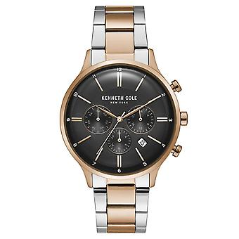 Kenneth Cole New York men's wrist watch analog quartz stainless steel KC15177002