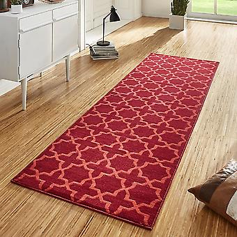 Conception velours tapis chemin pont rouge Glam