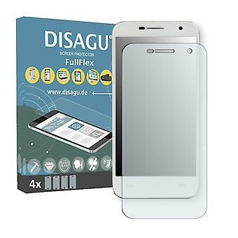 Alcatel one touch Idol 2 mini screen protector - DISAGU FullFlex protector