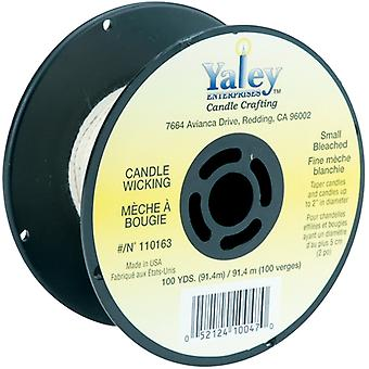 Candle Wicking Spool 100yd-Small Bleached 110163