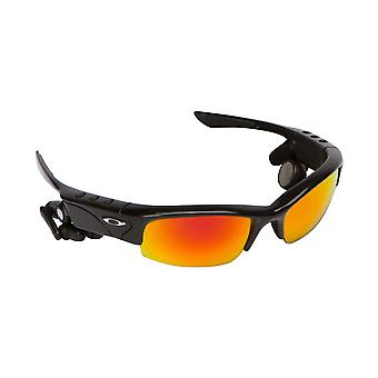 Best SEEK Polarized Replacement Lenses for Oakley THUMP PRO Black Red Mirror