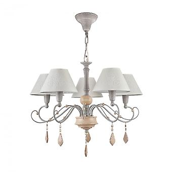 Maytoni Lighting Milea Elegant Collection Chandelier, Grey