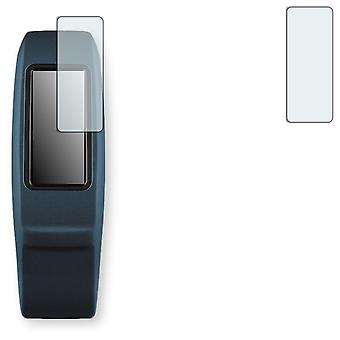 Garmin vivofit 2 screen protector - Golebo crystal-clear protector (deliberately smaller than the display, as this is arched)