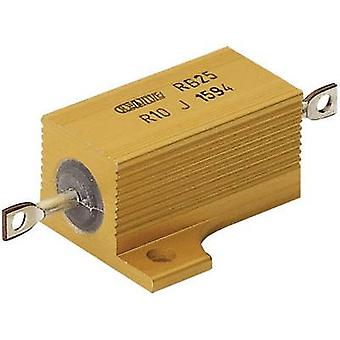 High power resistor 0.33 Ω Axial lead 25 W 5 % ATE Electronics RB25/ 1 pc(s)