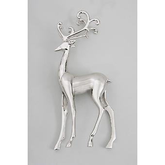 30cm Reindeer Figurine made from Brass for Ornament Decoration