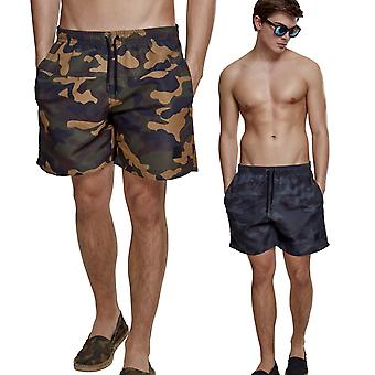 Urban classics - camouflage of shorts short swimsuit