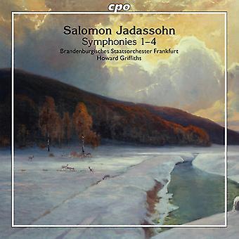 Jadassohn / Brandenburg stat orkesteren Frankfurt - symfonier nr 1-4 [CD] USA import