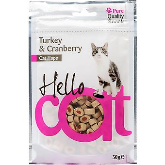 Agrobiothers Turkey/Cranberry Snacks Hellocat (Cats , Treats , Chewy & Softer Treats )