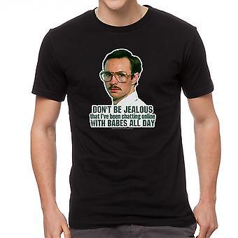 Napoleon Dynamite Babes All Day Men's Black Funny T-shirt