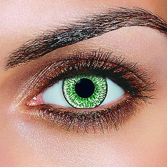Mystic Green Contact Lenses (Pair)