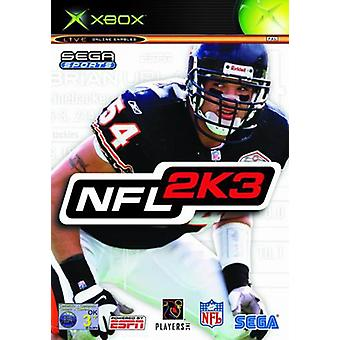 NFL 2K3 (Xbox) - Factory Sealed