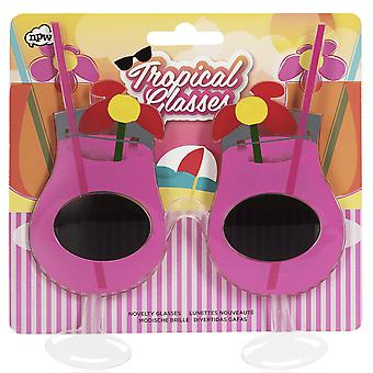 Npw Tropical Novelty Cocktail Glasses