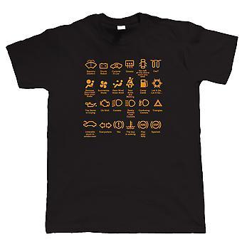 Funny Dash Icons, Mens Funny T Shirt
