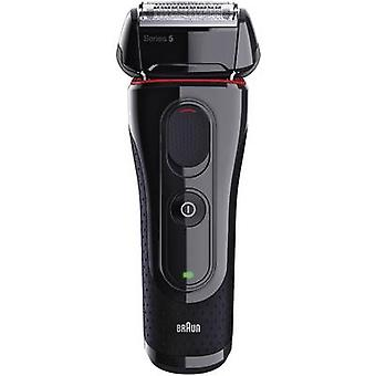 Foil shaver Braun 5030S - Series 5 Black, Red