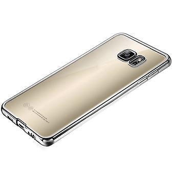 Premium TPU Silikoncase silver för Samsung Galaxy A5 2016 A510F