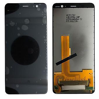 Display LCD complete unit for HTC U11 plus repair black