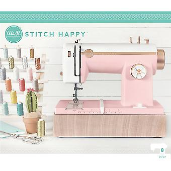We R Stitch Happy Multi Media Sewing Machine US Adaptor-Pink