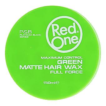 Red One Green Matte Hair Wax 150ml