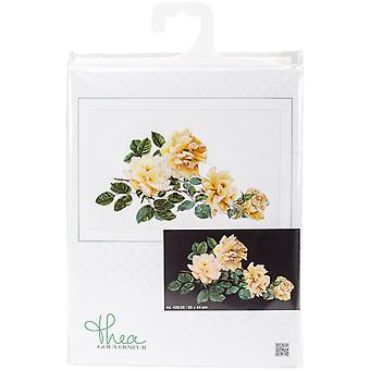Peace Rose On Aida Counted Cross Stitch Kit-17.25