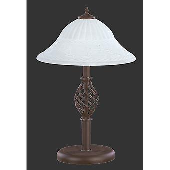 Trio Lighting Rustica Authentic Rusty Metal Table Lamp