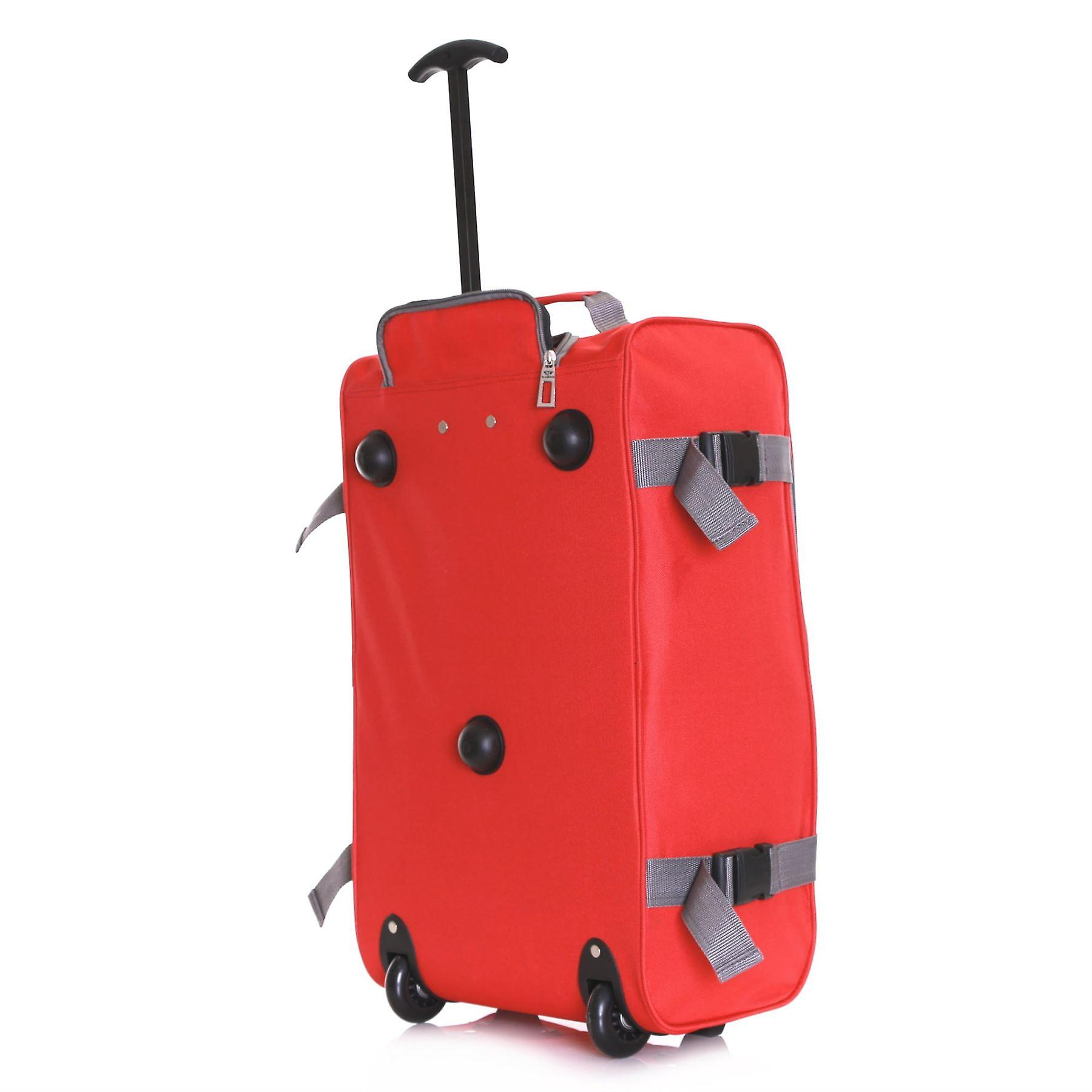 Slimbridge Lobos Cabin Trolley Bag, Red (SET OF 2)