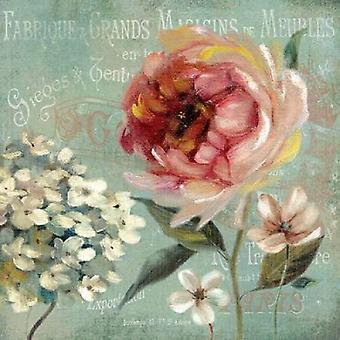 Le Jardin de Paris II Poster Print by Carol Robinson (24 x 24)