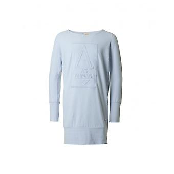 Armani Junior Raised Logo Jumper Dress