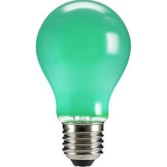 Sygonix LED EEC A (A++ - E) E27 Arbitrary 4 W Green (Ø x L) 60 mm x 105 mm Filament 1 pc(s)