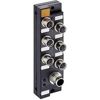 Sensor & actuator box (passive) M8 + steel thread ASBSM 6/LED 3 65346 Lumberg Automation 1 pc(s)