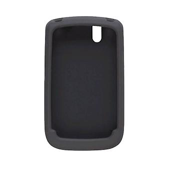 Silicone Gel Case for BlackBerry 9630 Tour, 9650 Bold, Black