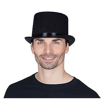 Cylindriska Black Hat tillbehör Halloween Carnival