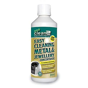 James Products SEA CLEAN 2 Easy Metal & Jewellery Concentrate Cleaning Solution