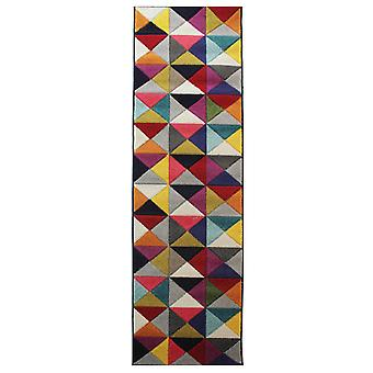 Spectrum Samba mångfärgad hallen löpare