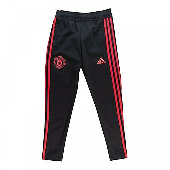 Adidas Juniors Manchester United Training Pants (Black)