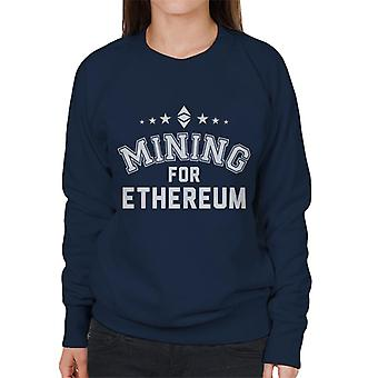 Mining For Ethereum Women's Sweatshirt
